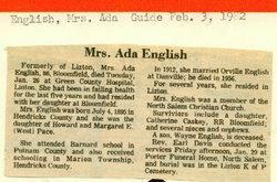 Ada Catherine <i>Pace</i> English