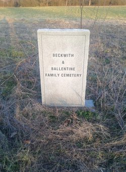 Beckwith-Ballentine Family Cemetery