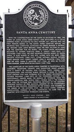 Santa Anna Cemetery