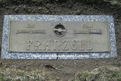 Ethel Grace <i>Hodge</i> Franzell