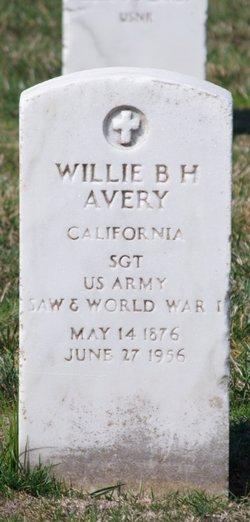 Willie B H Avery
