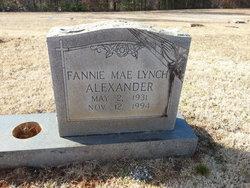 Fannie Mae <i>Lynch</i> Alexander