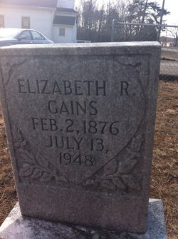 Elizabeth R Gains