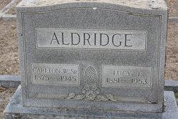 Lucy T. <i>Hitt</i> Aldridge