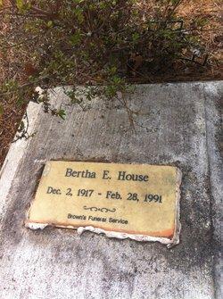 Bertha E House
