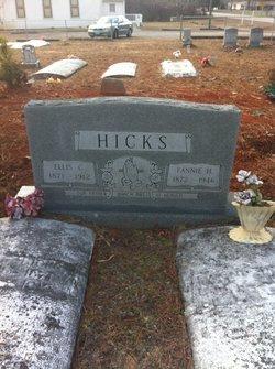 Fannie H Hicks