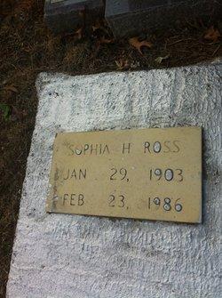 Sophia H Ross