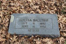 Louisa Elizabeth <i>Bunch</i> Balltrip