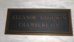 Eleanor <i>Goodwin</i> Chamberlain