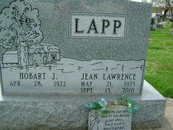 Jean Carol <i>Lawrence</i> Lapp