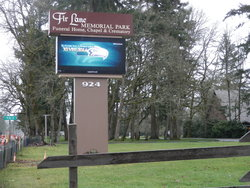 Fir Lane Memorial Park