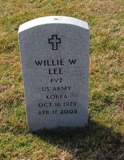 Willie W Lee