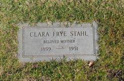 Clara <i>Frye</i> Stahl