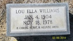 Lou Ella Williams