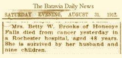 Bettie <i>White</i> Brooks