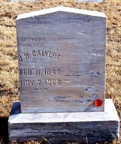 J H Calvert