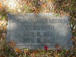 Amelia Frances <i>McComb</i> Ellsworth