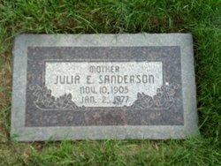 Julia Emmaline <i>Tucker</i> Sanderson