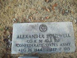 Pvt Alexander Alex Boutwell