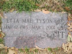 Etta Mae <i>Graff</i> Tyson