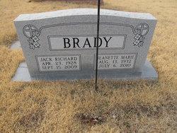 Jeanette Marie <i>Rumley</i> Brady