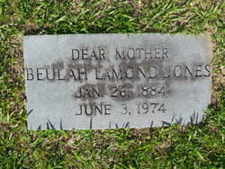Beulah <i>Lamond</i> Jones