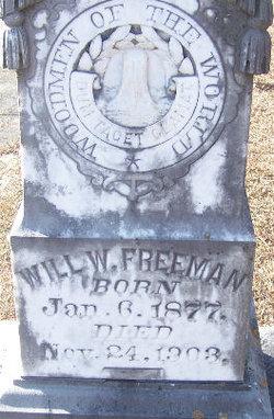 Will W Freeman
