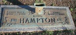 Annie Mae <i>Brown</i> Hampton