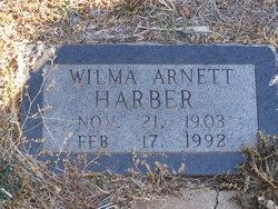 Wilma Marie <i>Arnett</i> Harber