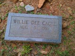 Willie Dee <i>Hughes</i> Cagle