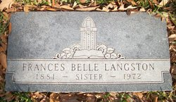 Frances Belle <i>Ratcliff</i> Langston