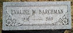 Evaline W. Barchman