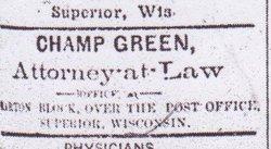 Champlin Champ Green