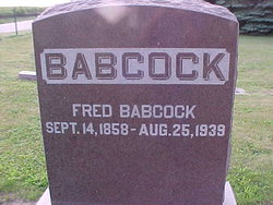 Fred Almond Babcock