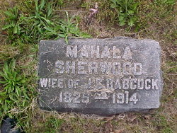 Mahala <i>Sherwood</i> Babcock