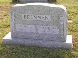 Anna E. <i>Buckley</i> Brennan