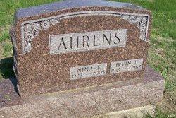 Irvin Leroy Bud Ahrens