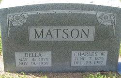 Charles W Matson