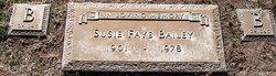 Susie Faye <i>Jones</i> Bailey