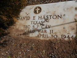 David Elmer Haston