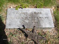Pvt Daniel Ostin Burr