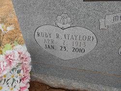 Ruby Ruth <i>Taylor</i> Sandlin