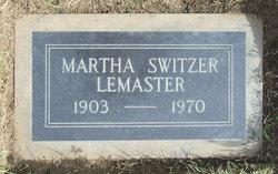 Martha LeMaster