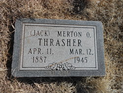 Merton Olan Jack Thrasher