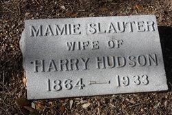 Mamie C. <i>Slauter</i> Hudson