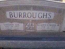 Gladys Hazel <i>Wardlaw</i> Burroughs