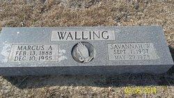 Savannah Melissa Wallace <i>Williams</i> Walling