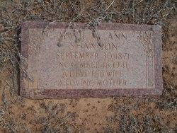 Matilda Ann <i>Robinon</i> Shannon