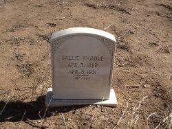 Sarah Frances Sallie <i>Whelan</i> Waddle
