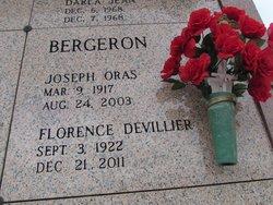 Florence <i>DeVillier</i> Bergeron